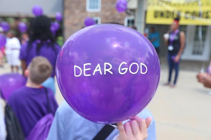 Dear God Balloon